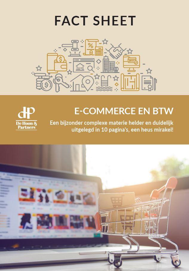 factsheet: e-commerce en BTW