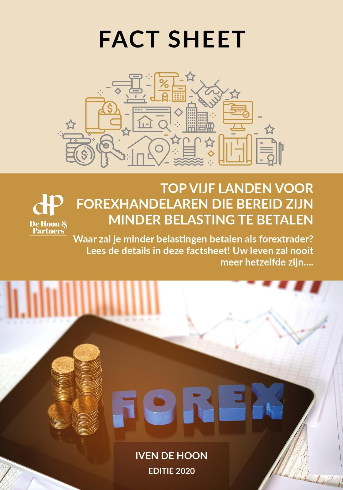 Fact sheet: Top vijf landen voor forex handelaren die bereid zijn minder belasting te betalen