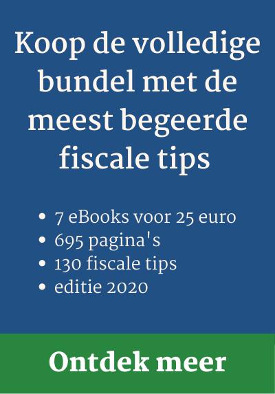 Koop de volledige bundel met de meest begeerde fiscale tips