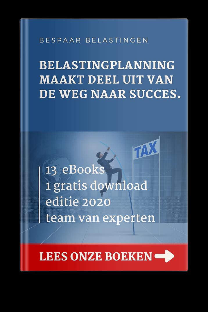 Belastingplanning maakt deel uit van de weg naar success. Lees onze boeken