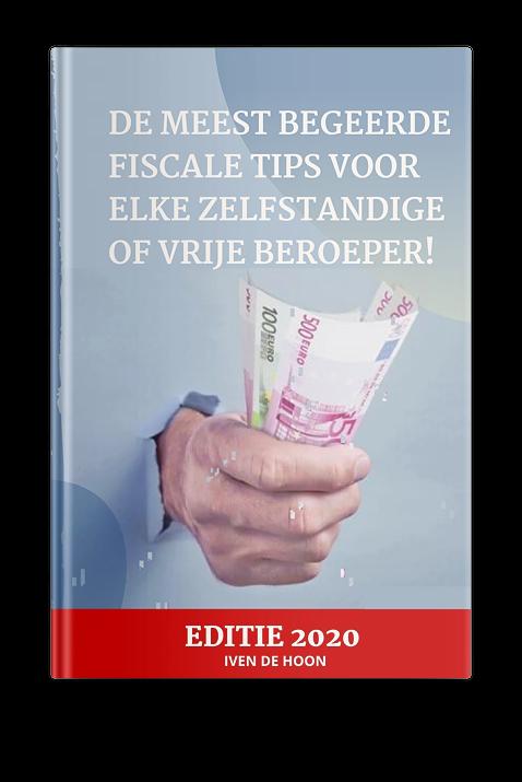 De meest begeerde fiscale tips voor elke zelfstandige of vrije beroeper!